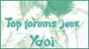 Top des forums de jeux Yaoi